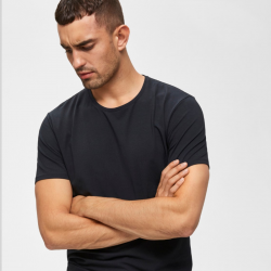 Pima t-shirt Selected Homme