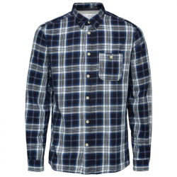 Regular Luke shirt check  køb den hos East-End