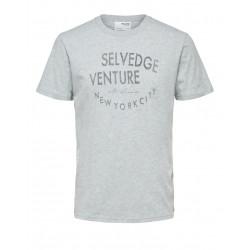 Selected Homme Phil Print t shirt Køb den hos East-End