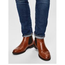 Læder støvle Chelsea