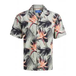 jack jo nes skjorte korte ærmer hawai køb den hos east end  mens wear sort udvalg af herretøj