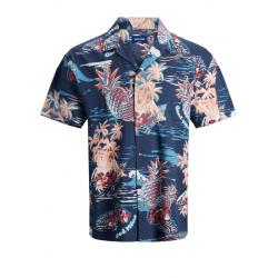 jack jones hawaii skjorte korte ærmer  køb den hos east end