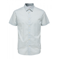 superblød sommer skjorte med korte ærmer fra selected den kan købes hos east end